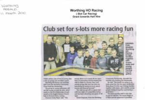 Worthing HO Racing