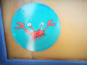 Creative Waves Crab Drawing