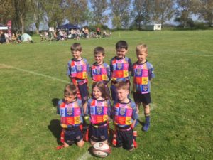 Rugby Minis under 7's